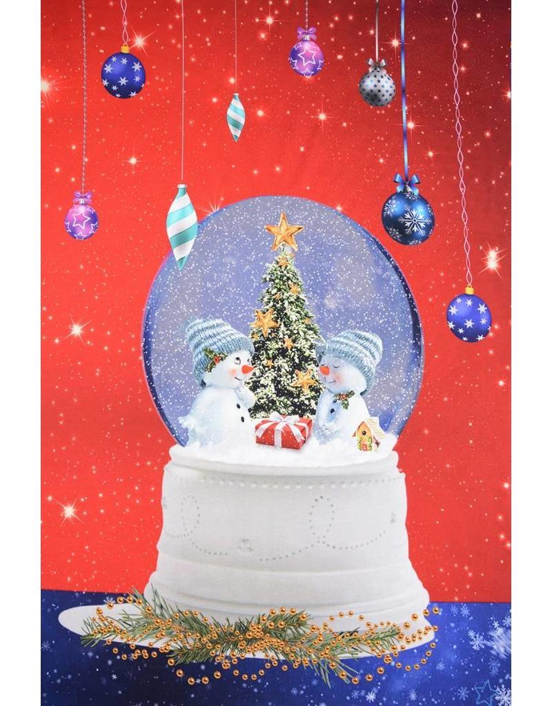 Digitaal Paneel Sneeuwbal Cotton Jersey