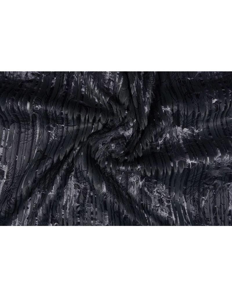 Gestreept Nep Bont-Foil Marine
