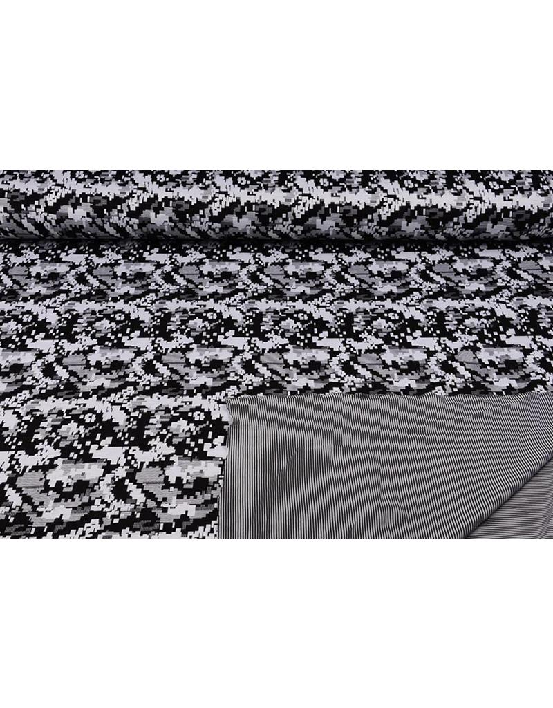 Jersey Double Face Jacquard -03