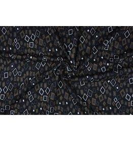 Jacquard knitted Omni Black