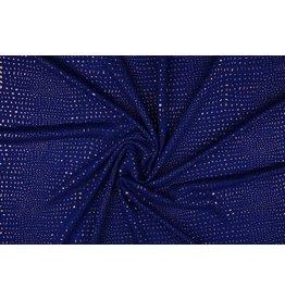 Jersey gold drop Kobalt Blauw