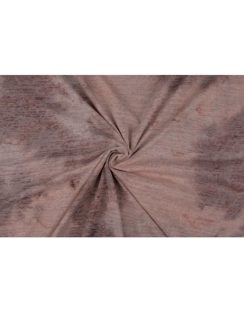 Jersey Tie and Dye Waldo Poeder roze