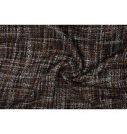Bouclé suite fabric Dark Brown