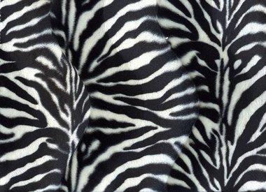 Velboa animal print
