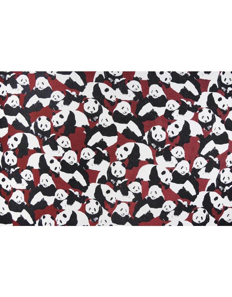 Jogging Alpenfleece Panda's Bordeaux