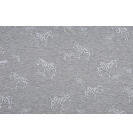 Jogging Alpenfleece Zebras White
