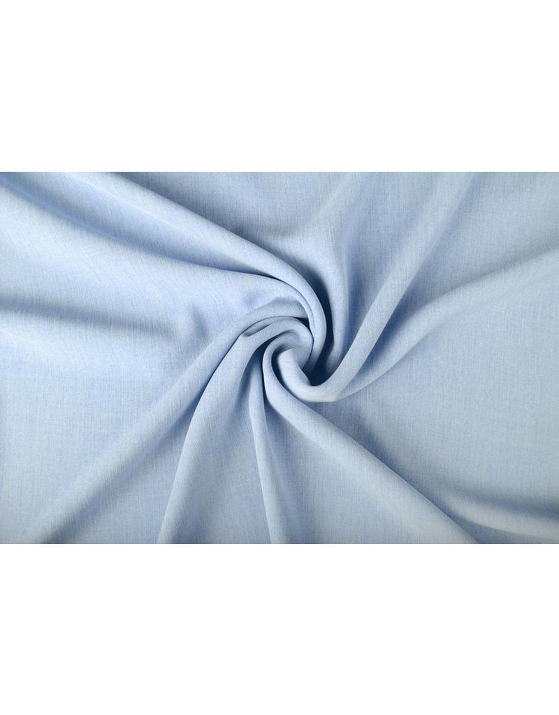 High Twist Krepp Babyblau
