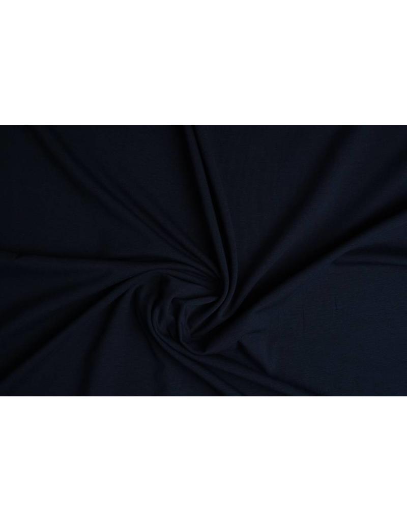 Oeko-Tex®  Baumwolljersey Marineblau