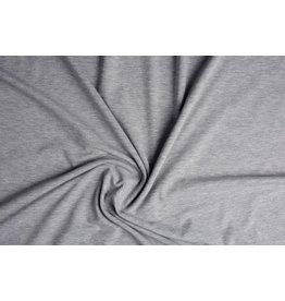 Cotton Jersey Licht grijs Melange