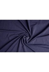 Oeko-Tex®  Cotton Jersey Donker Jeans Melange