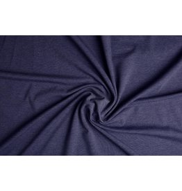 Cotton Jersey Donker jeans Melange