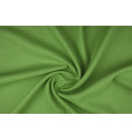 Washed Linen Dark lime