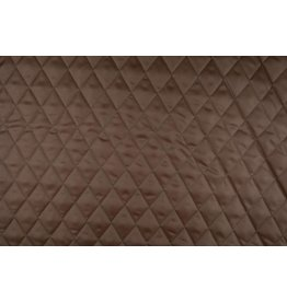 Quilted Lining Mocha brown