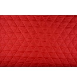 Quilted Lining  Red