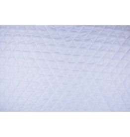 Quilted Lining  White