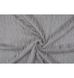 Hairy party fabric Silver