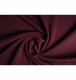 Oeko-Tex®  Sweatstoff Bordeaux