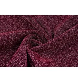 Lurex Tanz Bordeaux