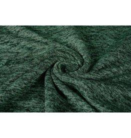 Gebreide Fleece Donker groen