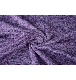 Gebreide Fleece Lavendel