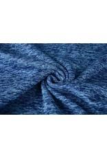 Strickfleece Kobaltblau
