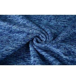 Knitted Fleece Cobalt Blue