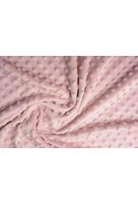 Minky Fleece Poeder roze