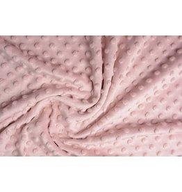 Minky Fleece Powder pink