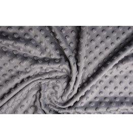 Minky Fleece Licht grijs