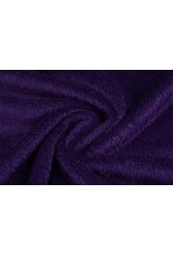 Muishaar fleece Donker paars