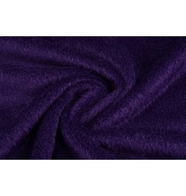 Mouse fleece Dark purple