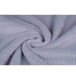 Muishaar fleece Zilver
