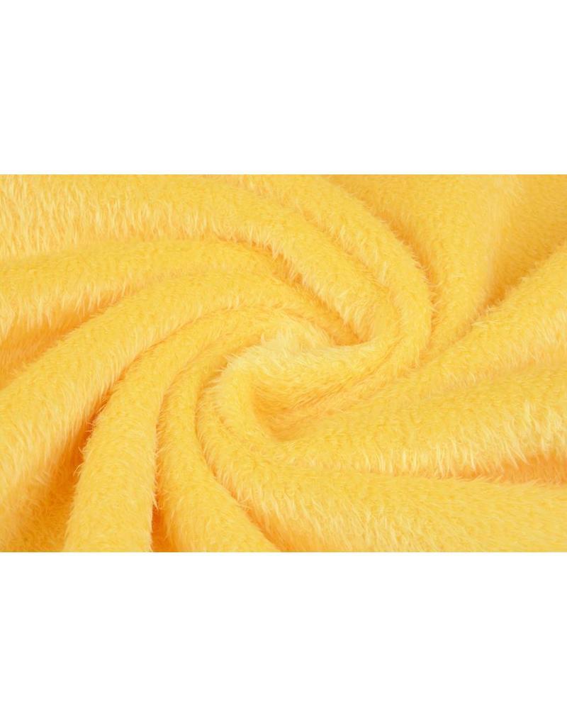 Muishaar fleece Citroen Geel