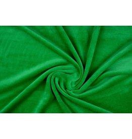 Nicki Samt Grasgrün