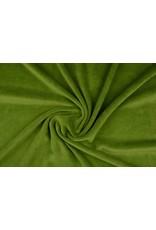 Nicki Samt Dunkel-Limettengrün
