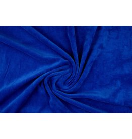 Nicky Velours Koningblauw