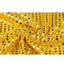 Pailletten op Mesh Goud-goud