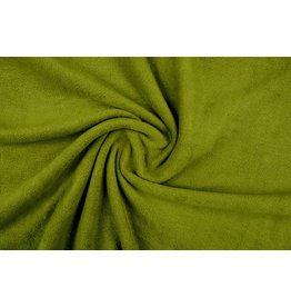 Polar Fleece Donker lime