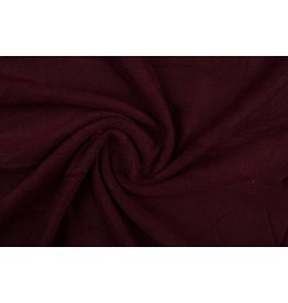 Polar Fleece Dunkelbordeaux