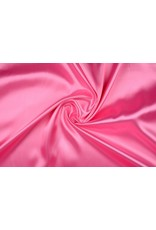 Polyester-Satin Rosa