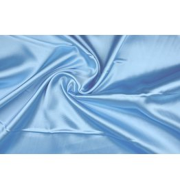 Poly Satin Baby blue