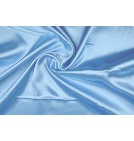 Polyester-Satin Babyblau