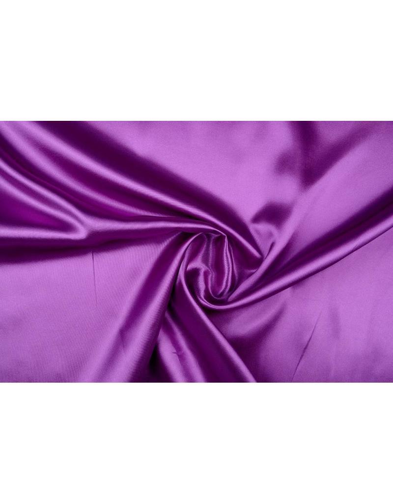 Polyester-Satin Lavendel