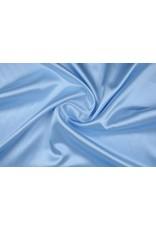Poly Satijn Grijs-blauw