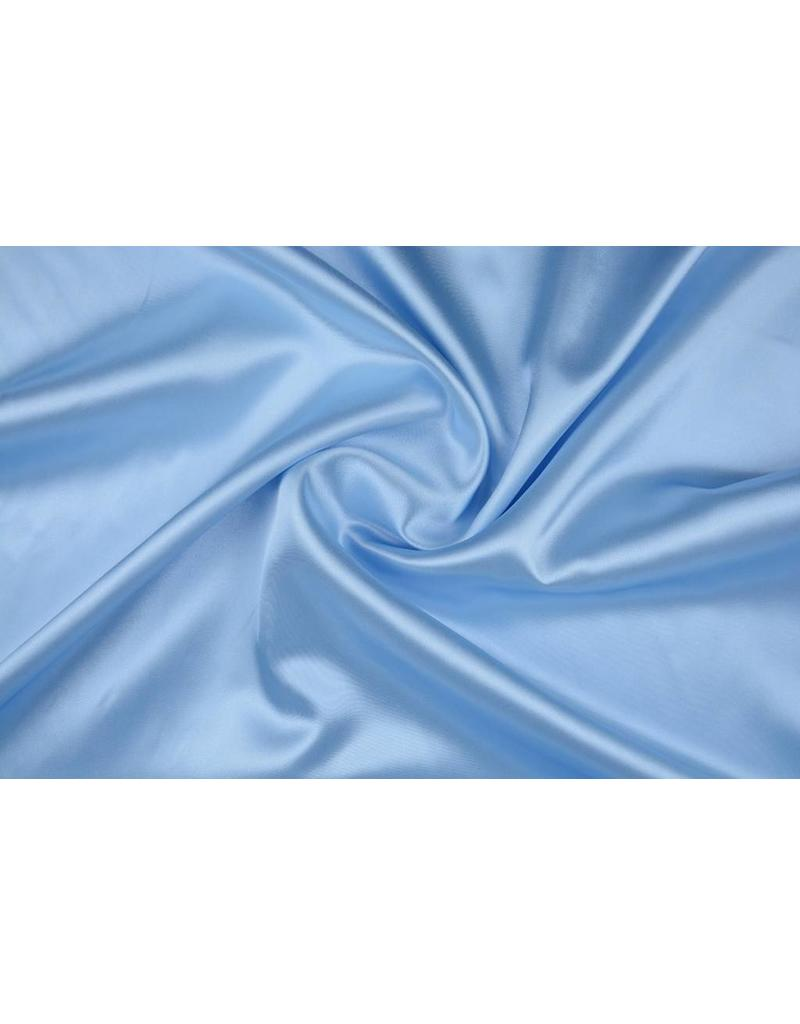 Polyester-Satin Grau-Blau