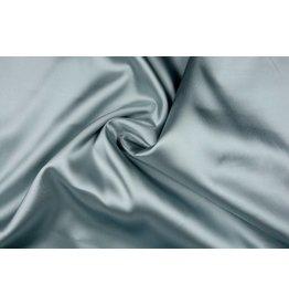 Polyester-Satin Grüngrau