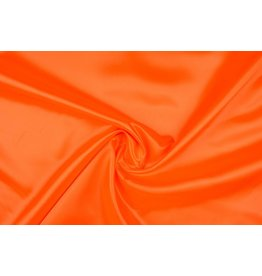 Polyester-Satin Fluororange