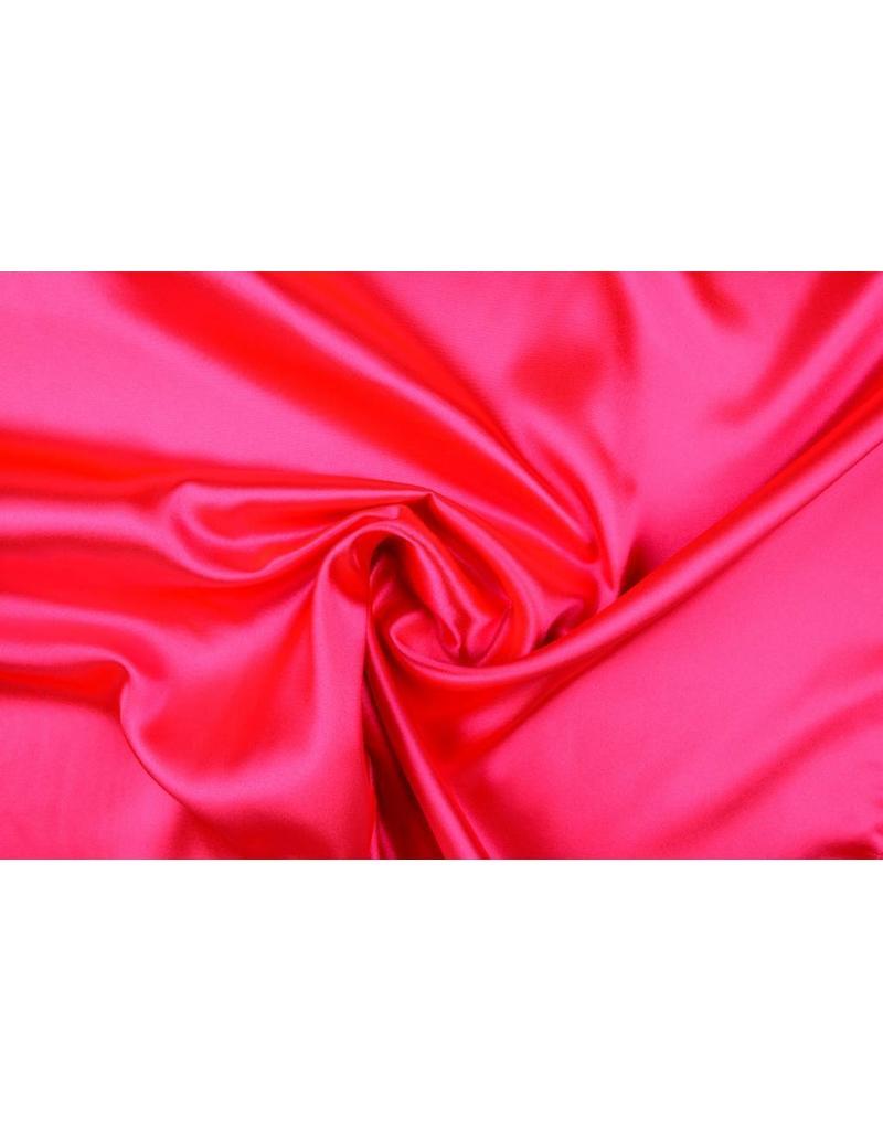 Polyester-Satin Fluorrosa