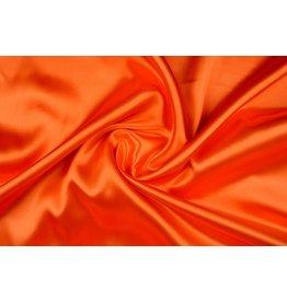 Poly Satin Warm Orange
