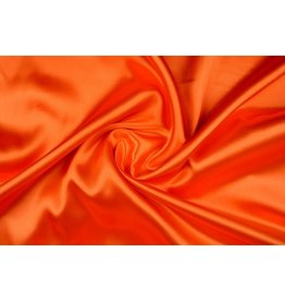 Polyester-Satin Orange